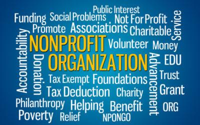 Non Profit Organizations. Not For Profit.