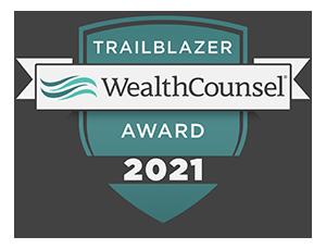 wealth counsel attorney trailblazer award